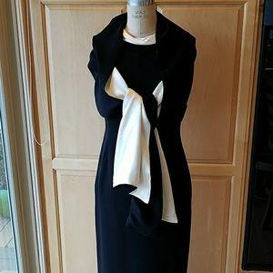 Ann Taylor sheath & shawl